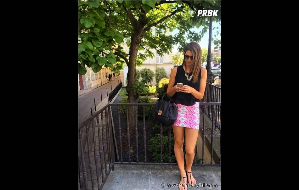 Laury Thilleman : photo en balade postée sur Instagram le 19 juin 2014
