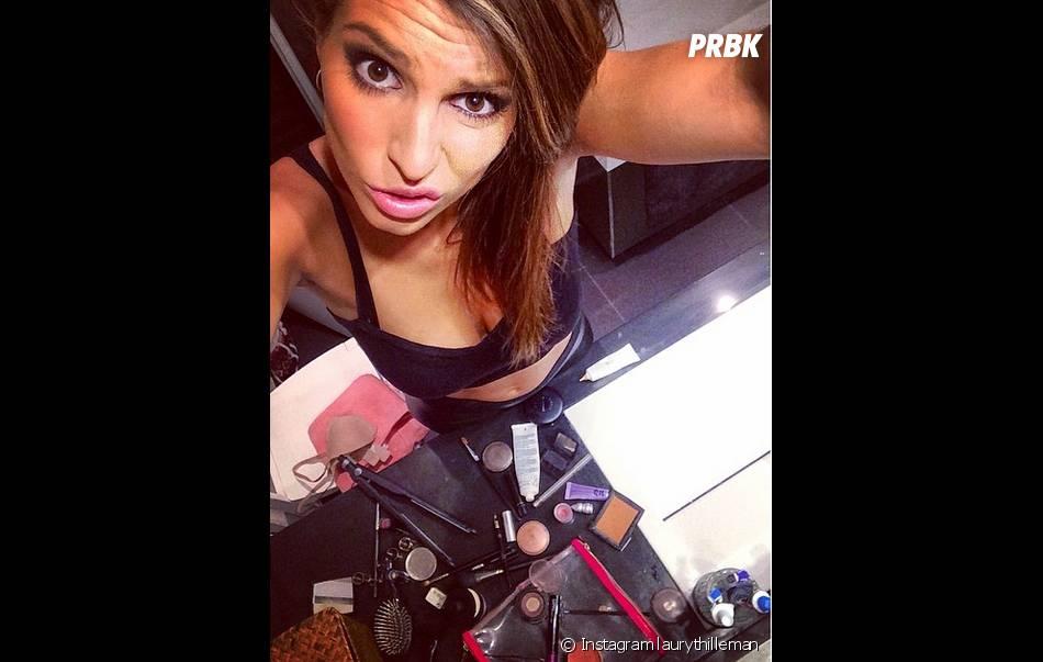 Laury Thilleman : sexy avant une soirée sur Instagram le 29 avril 2014