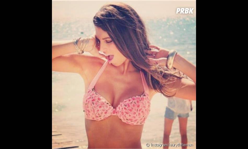 Laury Thilleman en bikini au mexique