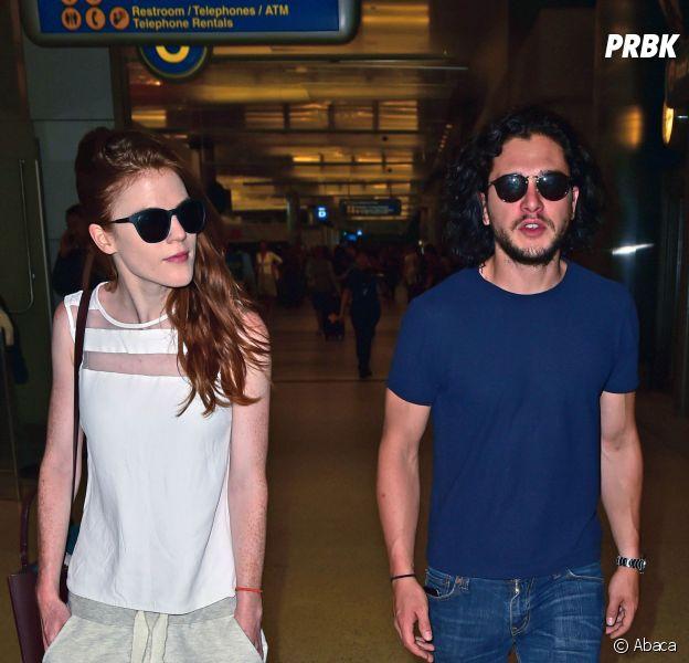 Game of Thrones : Kit Harington et Rose Leslie sont bien en couple