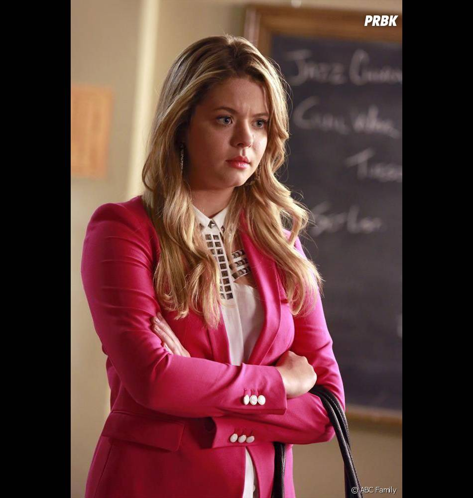 Pretty Little Liars saison 5, épisode 9 : Sasha Pieterse ...