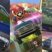 Mario Kart 8 : Mercedes débarque dans le jeu de course de la Wii U