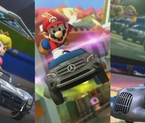 Mario Kart 8 : le trailer d'annonce du partenariat avec Mercedes-Benz