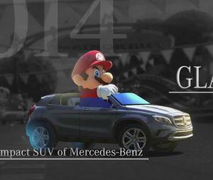 Mario Kart 8 : Mario va pouvoir conduire une Mercedes