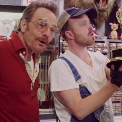 Breaking Bad : Bryan Cranston et Aaron Paul réunis lors d'un sketch délirant