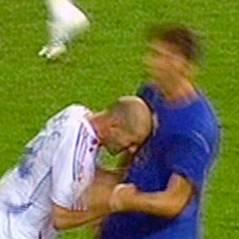 """Zinedine Zidane : provoc' de son """"ennemi"""" Materazzi pour l'Ice Bucket Challenge"""