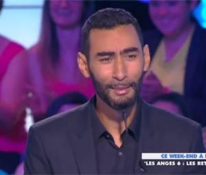 La Fouine dans l'émission Touche pas à mon poste, le 7 juillet 2014