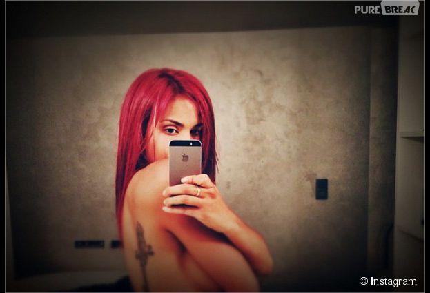 Shy'm sexy sur Instagram avec une nouvelle couleur