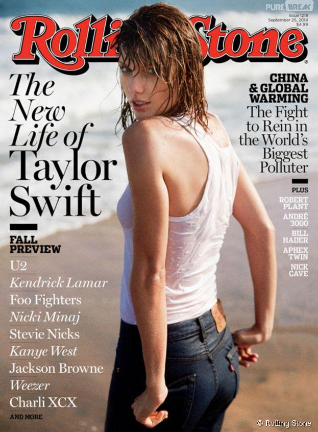 Taylor Swift en Une de Rolling Stone US