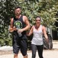 Lea Michele et Matthew Paetz : couple sportif à Los Angeles, le 5 août 2014