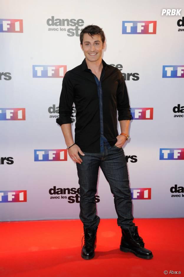 Brian Joubert lors de la conférence de presse de Danse avec les Stars 5 le 10 septembre 2014