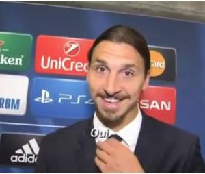 """Zlatan Ibrahimovic se confie sur la banderole """"fils de Dieu"""""""