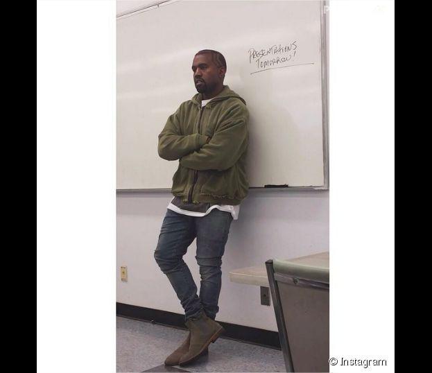 Kanye West devient prof le vendredi 19 septembre 2014 à Los Angeles