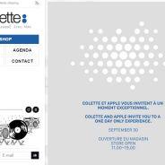 Colette et Apple : le rendez-vous mystérieux le plus hype de la rentrée