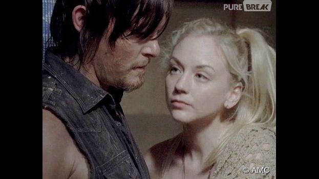 The Walking Dead saison 5 : Daryl et Beth bientôt en couple ?