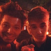 Kev Adams et Justin Bieber : petit selfie entre amis