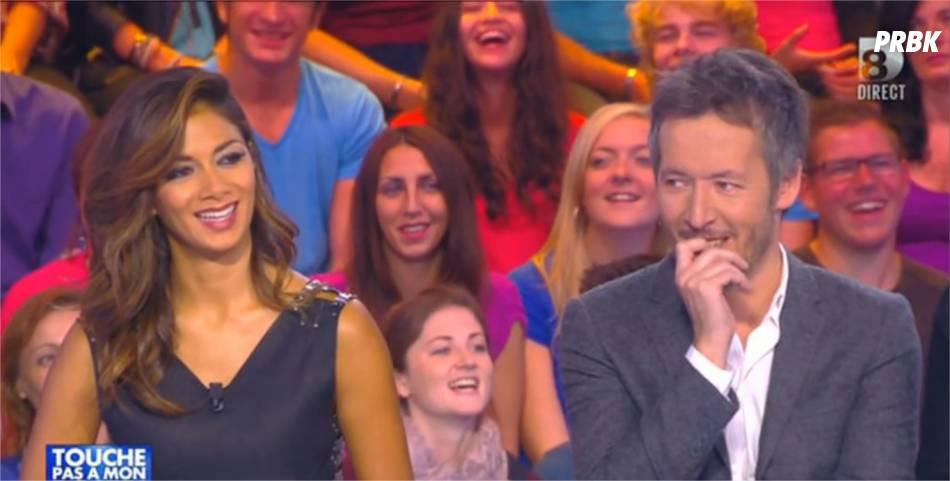 Nicole Scherzinger et Jean-Luc Lemoine dans Touche pas à mon poste, le 6 octobre 2014