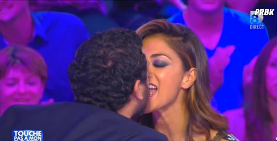 Cyril Hanouna et Nicole Scherzinger dans Touche pas à mon poste, le 6 octobre 2014
