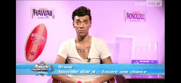 Bruno Moneroe pendant les Anges de la télé-réalité 4 sur NRJ 12