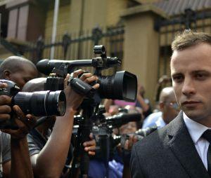 Oscar Pistorius à Pretoria, le 6 mars 2014.