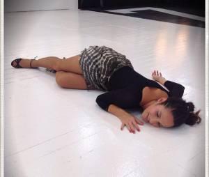 Elisa Tovati K.O pendant les répétitions de Danse avec les Stars 5