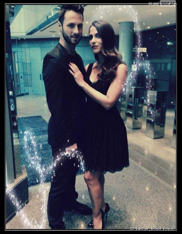 Elisa Tovati et Christian Millette, son partenaire de Danse avec les Stars 5