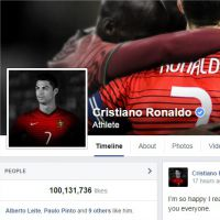 Cristiano Ronaldo champion du monde des fans sur Facebook