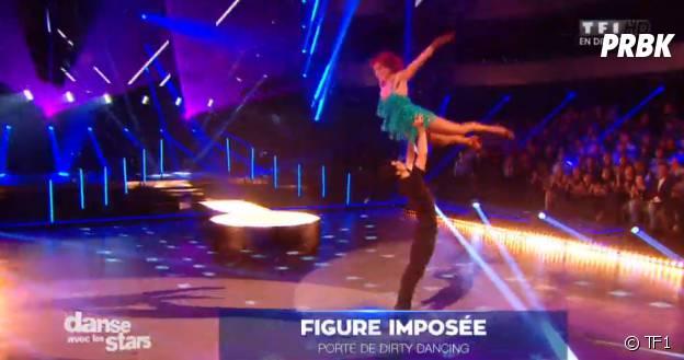 Danse avec les stars 5 : Miguel Angel Munoz et Fauve Hautot refont le porté de Dirty Dancing