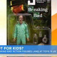 Breaking Bad : des figurines en vente chez Toys R Us font polémique