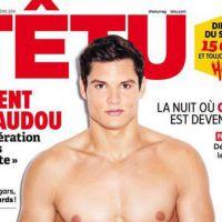 Florent Manaudou : sexy et pro mariage gay en Une de Têtu