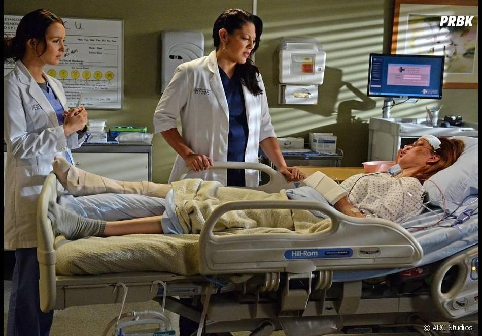 Grey's Anatomy saison 11, épisode 6 : Camilla Luddington et Sara Ramirez sur une photo