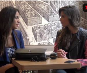 Leila Ben Khalifa en interview avec Malika Ménard pour Télé Loisirs