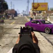 GTA 5 sur PS4 et Xbox One : le mode FPS dévoilé dans un trailer fou !