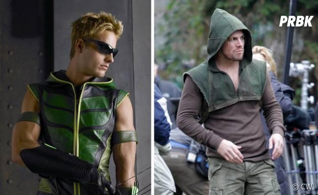 Arrow (Stephen Amell) vs Arrow (Justin Hartley)