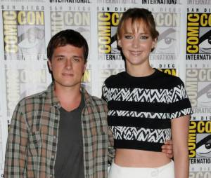 Josh Hutcherson et Jennifer Lawrence au Comic Con 2013