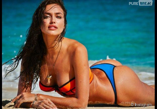 Irina Shayk, ultra sexy en bikini pour un shooting
