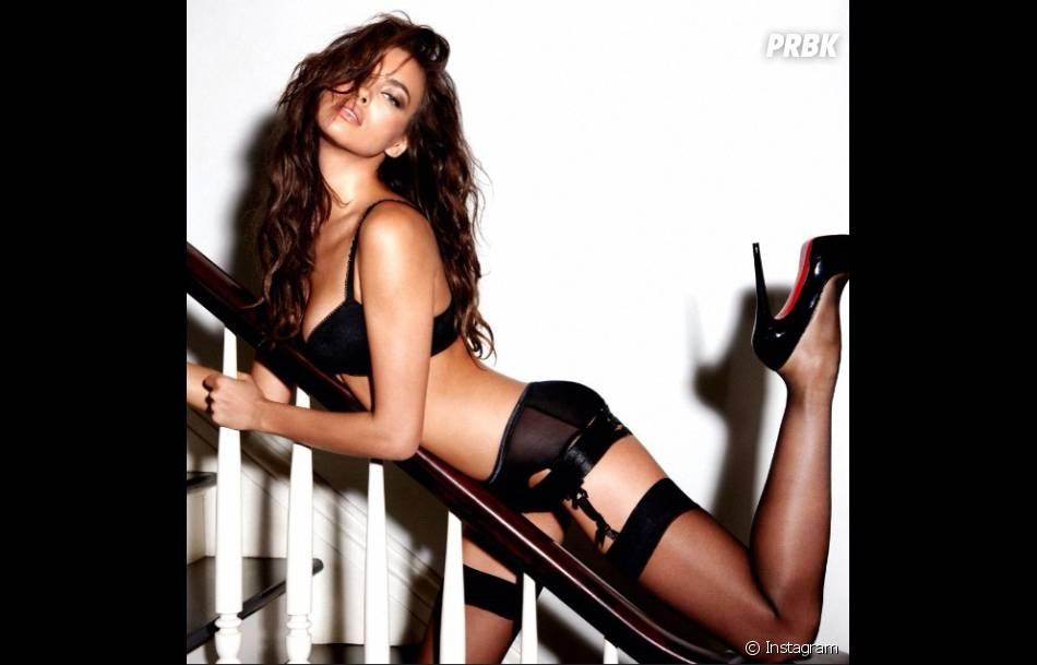 Irina Shayk, ultra sexy en lingerie pour un shooting