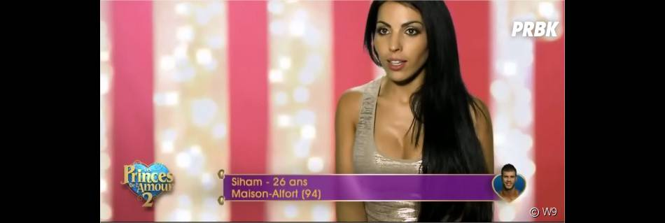 Siham dans les Princes de l'amour 2 sur W9, épisode du 17 novembre 2014