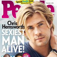 Chris Hemsworth élu homme le plus sexy de 2014 par People