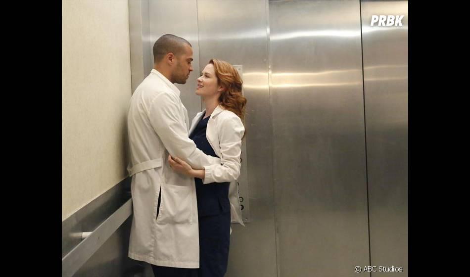 Grey's Anatomy saison 11 : le sexe du bébé d'April et Jackson dévoilé