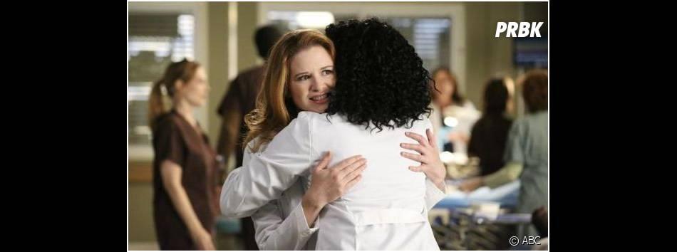 Grey's Anatomy saison 11, épisode 8 : April et Stephanie sur une photo