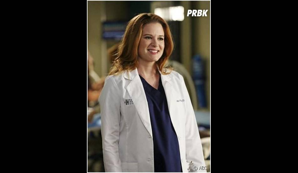 Grey's Anatomy saison 11, épisode 8 : Sarah Drew sur une photo