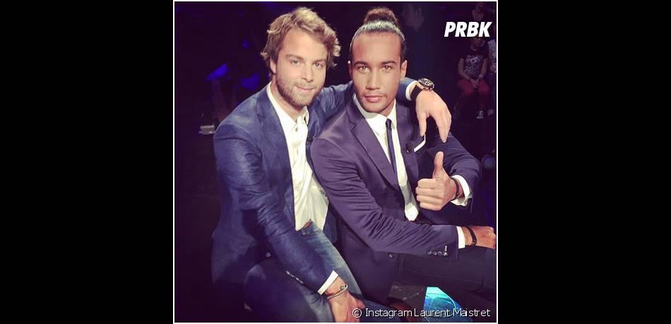 Koh Lanta 2014 : Laurent et Martin sur le plateau de la finale
