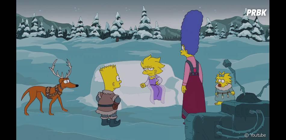 Les Simpson parodie la Reine des Neige