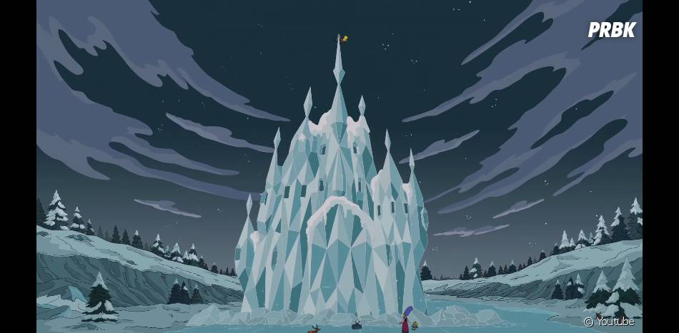 Les Simpson parodie Frozen dans le générique