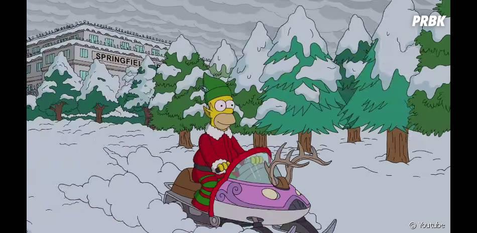 Les Simpson : Homer fête Noël