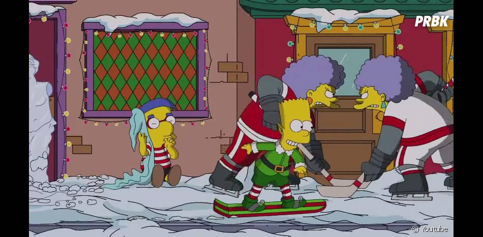 Les Simpson : épisode spécial Noël dans la saison 26