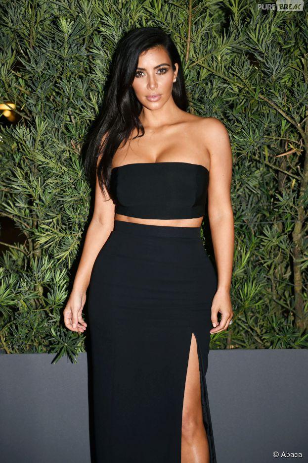 Kim Kardashian sexy pour la soirée Paper, le 4 décembre 2014 à Miami