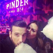 Leila Ben Khalifa et Aymeric Bonnery amoureux et complices pour une soirée au cirque