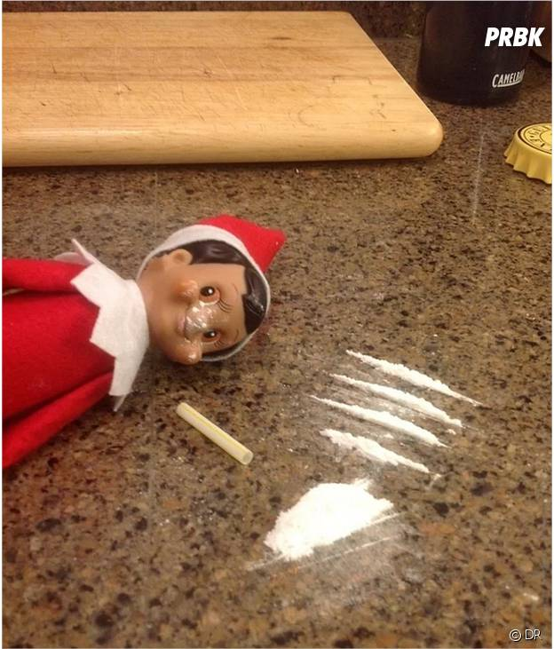 L'elfe qui a un peu trop sniffé